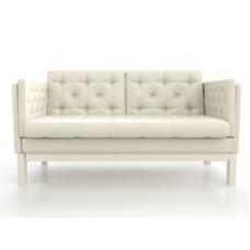Диван Айверс М Eco-leather сосна Беленый Дуб White AnderSon