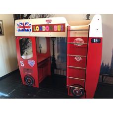 Кровать чердак для детей Автобус, спальное место 800*1900мм.