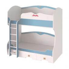 Колумбус C1931 Двухъярусная кровать -лестница СЛЕВА/СПРАВА