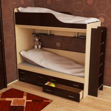 Кровать двухъярусная Дуэт-18
