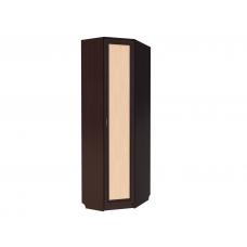 310. Шкаф для одежды угловой, цвет венге+дуб молочный
