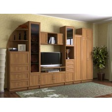 Мебельная стенка  Риф, цвет ольха