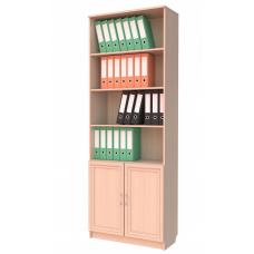Книжный шкаф 102, цвет дуб молочный