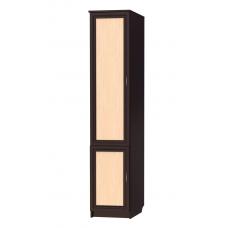 Книжный шкаф 303, цвет венге+дуб молочный