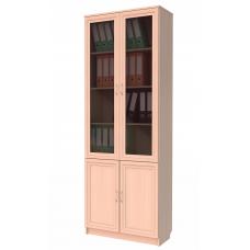 Книжный шкаф 202, цвет дуб молочный