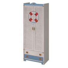 Колумбус C2211 2-х дверный шкаф со штангой