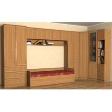 Мебель для детской комнаты с кроватью-3