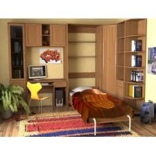 Мебель для детской комнаты  Школьник,  ольха