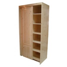 Шкаф-купе для одежды двустворчатый