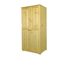 Шкаф для одежды из массива сосны  Alex