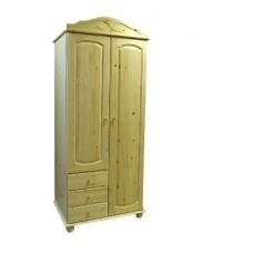 Шкаф для одежды из массива сосны Аури