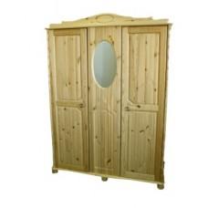Шкаф для одежды из массива сосны Айно