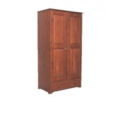 Шкаф для одежды из массива сосны  Maxim